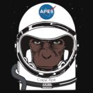 Apes to Mars by mqdesigns13