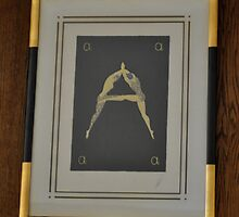 Erte Serigraph Signed Letter A by Lucky2012