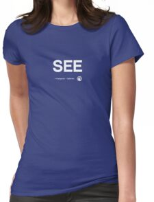Third Eye Chakra Womens Fitted T-Shirt