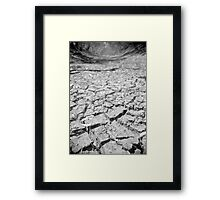 Lachlan River Bed Framed Print