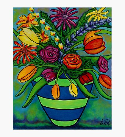 Funky Town Bouquet Photographic Print