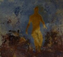 Love walks naked in the Garden, Dark view by Redviolin