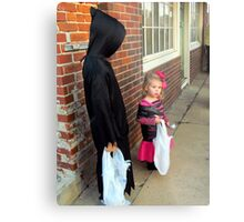 trick or treat! Metal Print