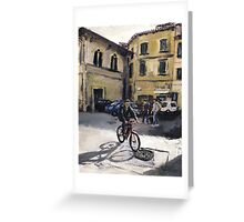 Biker Florencia Greeting Card