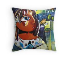 'cos my love is your love Throw Pillow