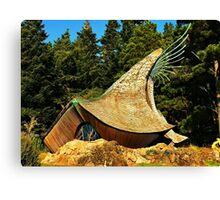 Prayer Chapel, Sea Ranch, California Canvas Print