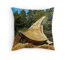 Prayer Chapel, Sea Ranch, California Throw Pillow