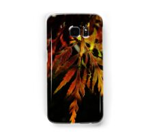 One pretty leaf in Autumn colours - iPhone Samsung Galaxy Case/Skin