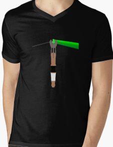 The Dark Side of Gallifrey Mens V-Neck T-Shirt