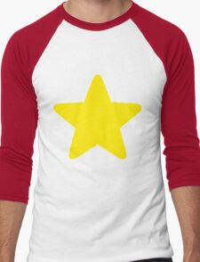 Steven Universe -Yellow Star Men's Baseball ¾ T-Shirt