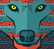 Wolf gift Sticker