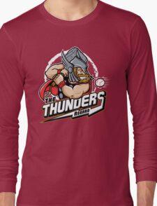 THE THUNDERS BASEBALL Long Sleeve T-Shirt