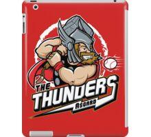 THE THUNDERS BASEBALL iPad Case/Skin