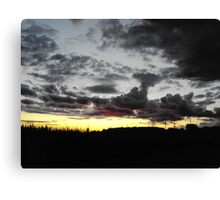 The Driving Force Canvas Print