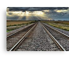 Back On Track Canvas Print