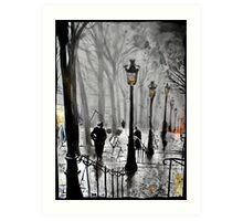 lamps of Paris Art Print