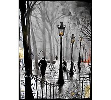 lamps of Paris Photographic Print