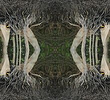 Mangrove strangeness and charm 4 by peteredbubble
