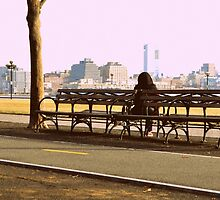 the bench of somber thoughts by sarahb03