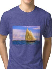 Sailing The Sound Tri-blend T-Shirt