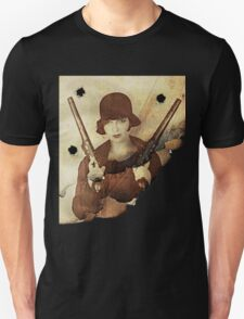 Louise Brooks  and her guns T-Shirt