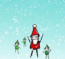 Shiny Metal Thing - Santa by ShinyMetalThing