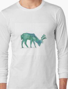 Prongs Watercolour Long Sleeve T-Shirt