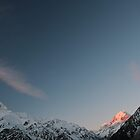 Mt. Cook at Sunset by Laurel Talabere