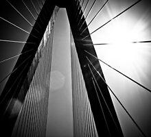 Arthur J. Ravenel/Cooper River Bridge by keeganspera