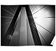 Arthur J. Ravenel/Cooper River Bridge Poster
