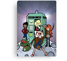 Adventure Time Lord Planetfall Canvas Print