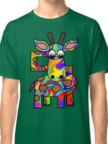 Colorful Giraffe Classic T-Shirt