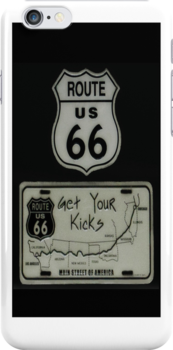✿◕‿◕✿  ❀◕‿◕❀ GET YOUR KICKS ON ROUTE 66 IPHONE CASE ✿◕‿◕✿  ❀◕‿◕❀ by ╰⊰✿ℒᵒᶹᵉ Bonita✿⊱╮ Lalonde✿⊱╮