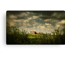 House on the Hill, Wilberforce NSW Canvas Print