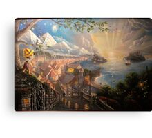 Kinkade replica Canvas Print