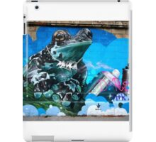 Frog Graffiti, Vienna, Austria iPad Case/Skin