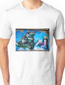 Frog Graffiti, Vienna, Austria Unisex T-Shirt