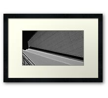 Architecture Abstract, San Francisco State University Framed Print
