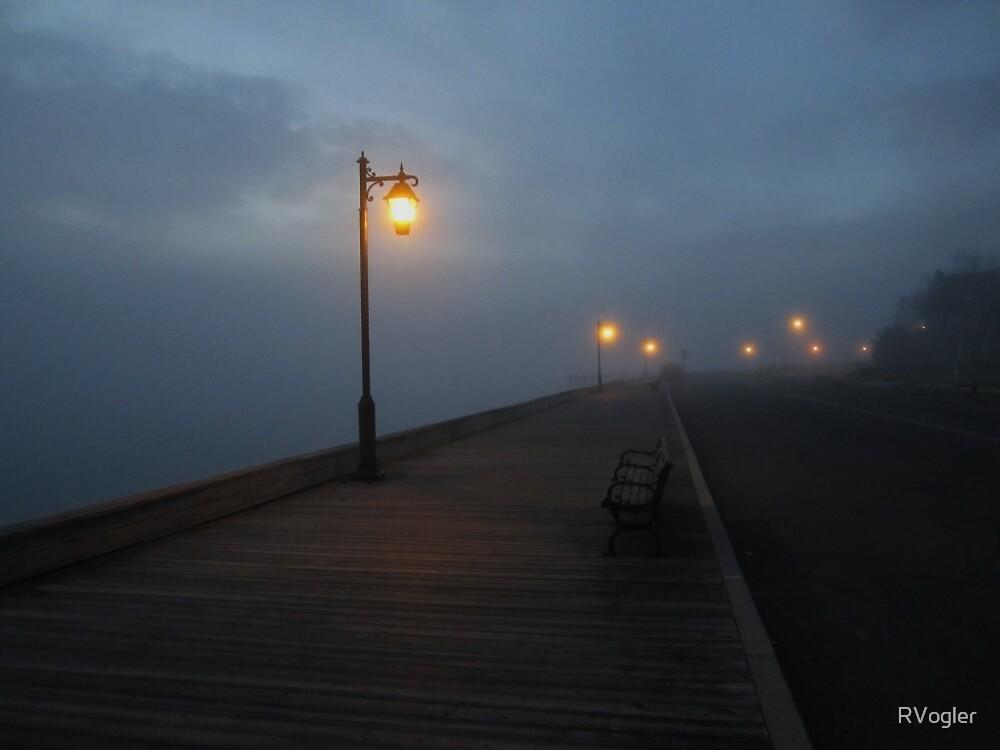 Promenade In Fog by RVogler