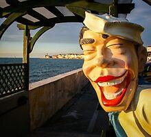 Smiling Sailor, Piran by Bob Ramsak