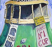 Football Tram by Bradyink