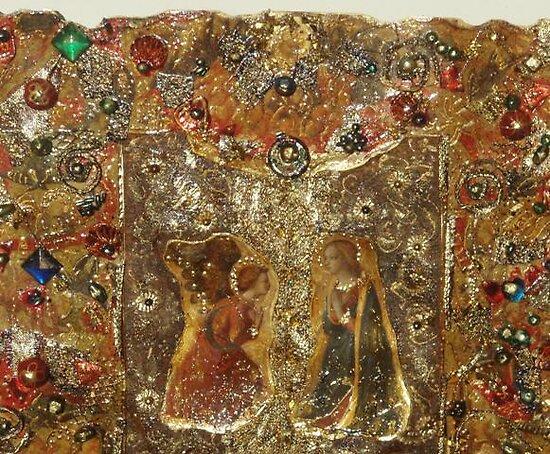 Annunciation - detail by Ian A. Hawkins
