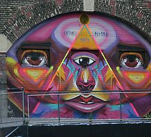 Graffiti, Vienna, Austria by Jeff Hobbs