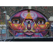 Graffiti, Vienna, Austria Photographic Print