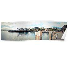 Geelong Foreshore Panorama Poster