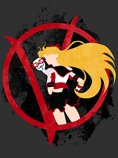 Sailor V for Vendetta by Rachael Thomas