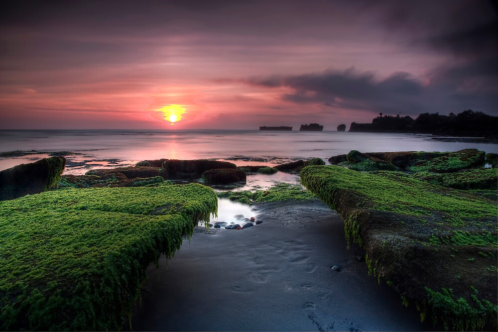 Bali Dreaming - Sunset by Maxwell Campbell