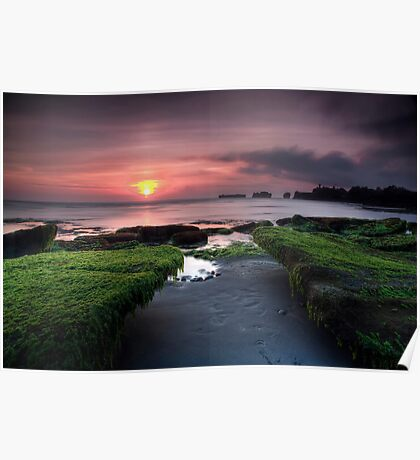 Bali Dreaming - Sunset Poster