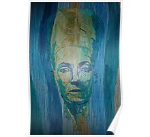 Nefertiti (Lined Abstraction)2 Poster