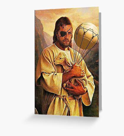 Big Boss is our savior Greeting Card